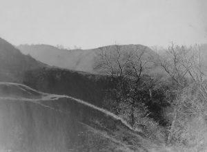 Лысая Гора на Юрковице в Киеве. Фото 1977 года