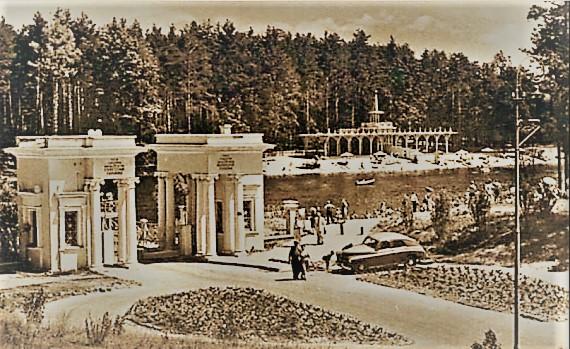 Так виглядала Пуща-Водиця на початку XX століття