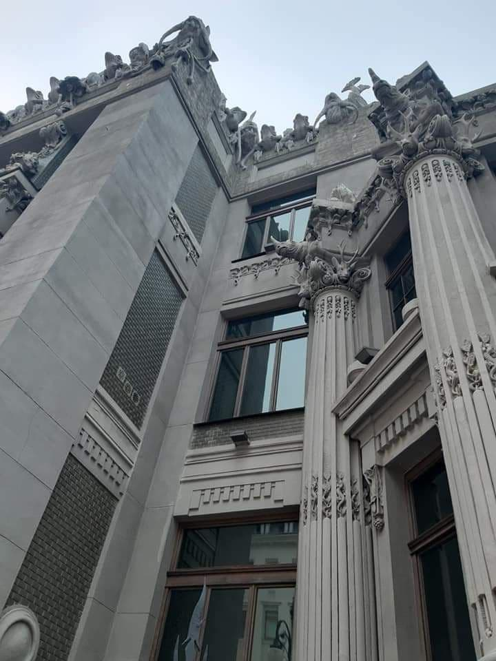 Дом с химерами (доходный дом Владислава Городецкого), находящийся на улице Банковой в Киеве