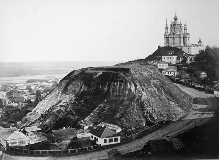 Андріївський узвіз на фото Франца Мезера